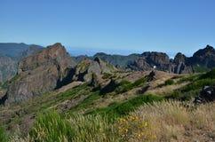 Il Madera - Pico fa Arieiro Fotografia Stock