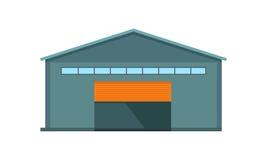 Il magazzino mondiale consegna Costruzione del deposito royalty illustrazione gratis