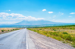 Il maggior supporto dell'Ararat Immagine Stock Libera da Diritti