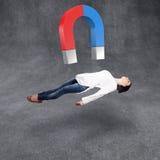 Il magnete disegna la ragazza Fotografie Stock Libere da Diritti