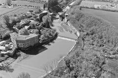 Il Manica padroneggia il della Chiana, a Arezzo Fotografie Stock Libere da Diritti