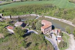 Il Manica padroneggia il della Chiana, a Arezzo Fotografia Stock