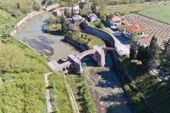 Il Manica padroneggia il della Chiana, a Arezzo Immagine Stock