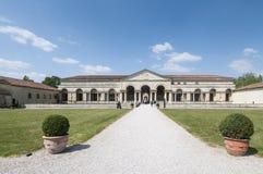 Il mantua Lombardia Italia Europa del te del giardino del palazzo Fotografie Stock Libere da Diritti