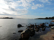 Il Mar Baltico a Helsinki Fotografie Stock