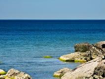 il Mar Baltico, orizzonte, orizzonte immagini stock libere da diritti