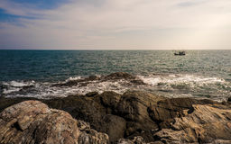 Il mare Immagine Stock