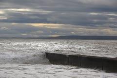Il mare della Scozia Immagini Stock
