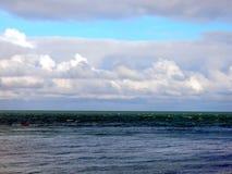 Il mare di Etretat in Normandie Immagine Stock