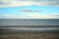 Il Mare di Irlanda, Malahide, Irlanda immagine stock libera da diritti