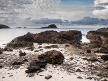 Il mare di mattina Fotografie Stock