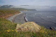 Il mare di Okhotsk, Immagini Stock Libere da Diritti