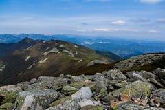 Il mare di pietra sull'alta montagna Immagine Stock Libera da Diritti