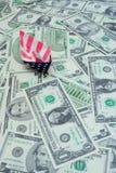 Il mare di soldi Fotografie Stock Libere da Diritti
