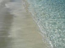 Il mare e la sabbia fotografia stock libera da diritti