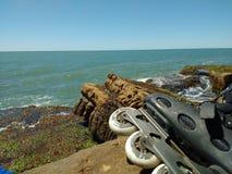 Il mare e le rocce immagini stock libere da diritti