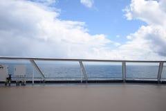 Il mare ed il cielo Fotografie Stock Libere da Diritti
