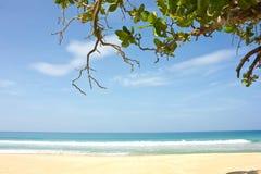 Il mare a KhaoNaYak in PhangnNga, Tailandia Immagini Stock Libere da Diritti