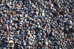 Il mare lapida il fondo. Immagine Stock
