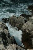 Il mare in Rovigno Fotografie Stock Libere da Diritti