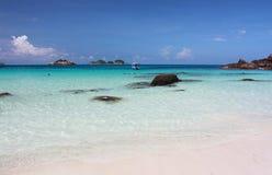 Il mare variopinto dell'isola di Redang Fotografia Stock Libera da Diritti