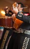 Il mariachi di Maxican lega Immagini Stock