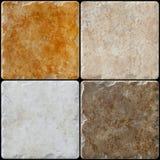 Il marmo ha decorato le mattonelle del fondo, mosaico Fotografie Stock Libere da Diritti