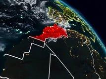 Il Marocco alla notte illustrazione di stock