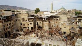 Il Marocco Fes Fotografia Stock Libera da Diritti