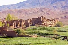 Il Marocco, gole. Fotografia Stock