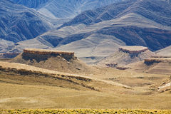 Il Marocco, gole. Immagini Stock Libere da Diritti