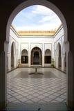 Il Marocco, il palazzo reale Fotografia Stock