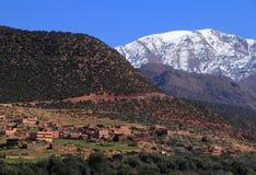 Parco nazionale Marocco di Toubkal Immagini Stock