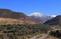 Parco nazionale Marocco di Toubkal Fotografia Stock Libera da Diritti