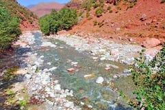 Il Marocco, Marrakesh: paesaggio della valle di Ourika Immagine Stock Libera da Diritti