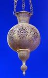 Il Marocco, Marrakesh: vecchia lampada araba Immagine Stock Libera da Diritti