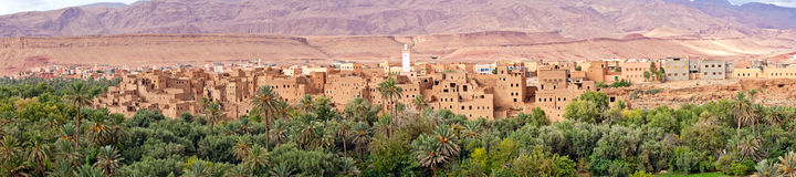 Il Marocco, mille zone di Kasbahs immagine stock