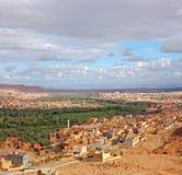 Il Marocco, mille zone di Kasbahs fotografie stock libere da diritti