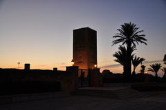 Il Marocco, quadrato di Rabat Fotografie Stock Libere da Diritti
