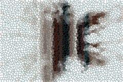 Il marrone blu grigio quadra, fondo astratto allegro Fotografia Stock Libera da Diritti