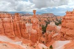 Il martello di Thor in Bryce Canyon National Park nell'Utah, U.S.A. Fotografia Stock
