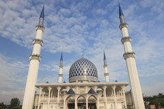 Il Masjid Sultan Salahuddin Abdul Aziz Shah Malesia Fotografia Stock