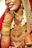 Il matrimonio è oro fotografie stock