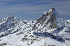 Il Matterhorn Fotografie Stock
