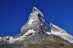 Il Matterhorn Fotografie Stock Libere da Diritti