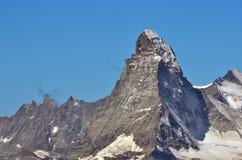 Il Matterhorn Fotografia Stock Libera da Diritti