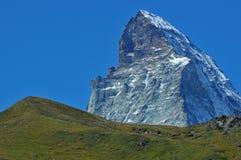 Il Matterhorn impressionante Fotografia Stock