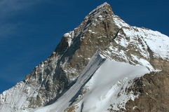 Il Matterhorn magnifico Immagini Stock Libere da Diritti