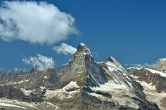 Il Matterhorn magnifico Fotografie Stock Libere da Diritti
