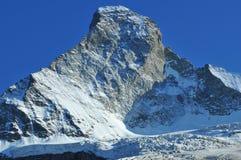 Il Matterhorn in sera Immagini Stock Libere da Diritti
